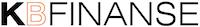 KB Finanse - Biuro Rachunkowe Czarne Logo